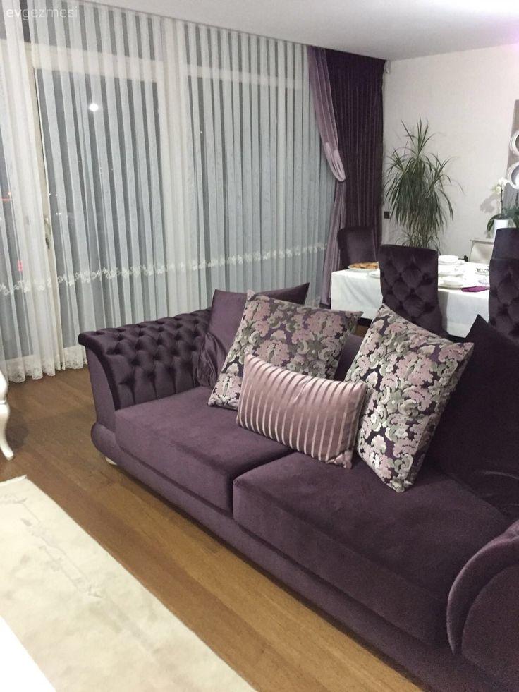 Bursa'da yaşayan ev sahibimiz Fatmanur hanımın klasik stilin hakim olduğu evinin misafiriyiz.. Mobilyalarını Zebrano Mobilya'dan tercih eden ev sahibimiz, mor rengi ağırlıklı olarak kullandığı dek...