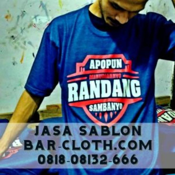 Jasa Sablon Kaos di Jakarta Selatan