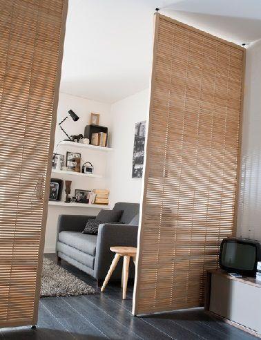 cloison amovible 8 kleines studio castorama | Wohnen | Pinterest ...