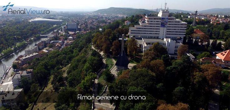 Fotografie drona Parcul Cetatuie Cluj ! #fotografiidrone #fotografiiaeriene #aerialview
