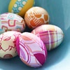 Pretty No-Dye Easter Eggs from Better Homes and Gardens