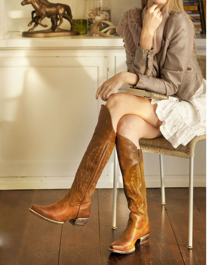 1000  ideas about Tall Cowgirl Boots on Pinterest | Cowgirl boots