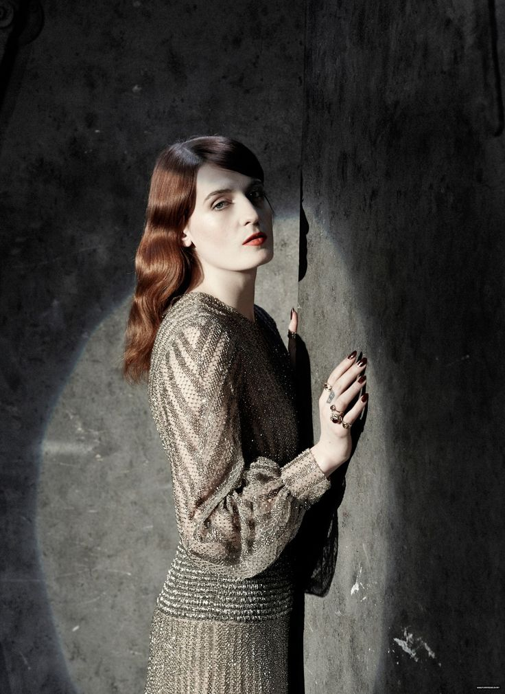 """lillithblackwell: """"Florence Welch Photographed by Phil Fisk """""""