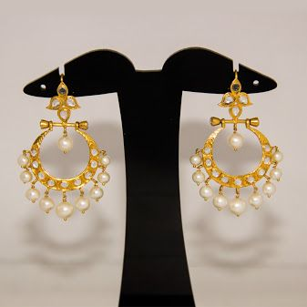 Amarsons Pearls & Jewels -The Chandbali Collection!