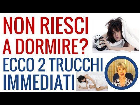 Insonnia e sonno: rimedi naturali per dormire bene e i 2 consigli della naturopata Simona Vignali - YouTube