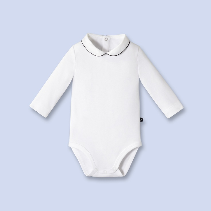 Peter Pan Collar Bodysuit For Baby Jacadi Kid Amp Calf