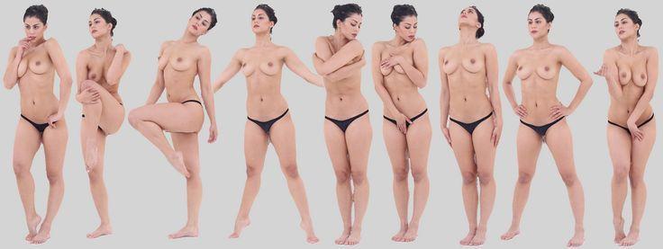 Breath taking beauty nude hang