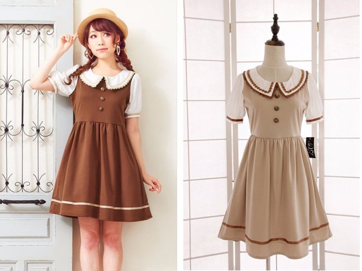 japanese dresses for girls | 2015 New Style Japanese School Uniform Cosplay Costume Anime Girl Maid ...