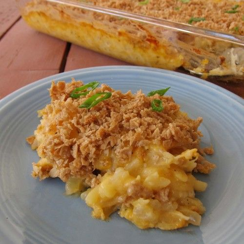 Funeral Potatoes (Gluten-free, Vegan)   Made Just Right by Earth Balance vegan plantbased