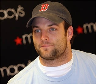 Wes Welker! Cutie with that hat on. (: