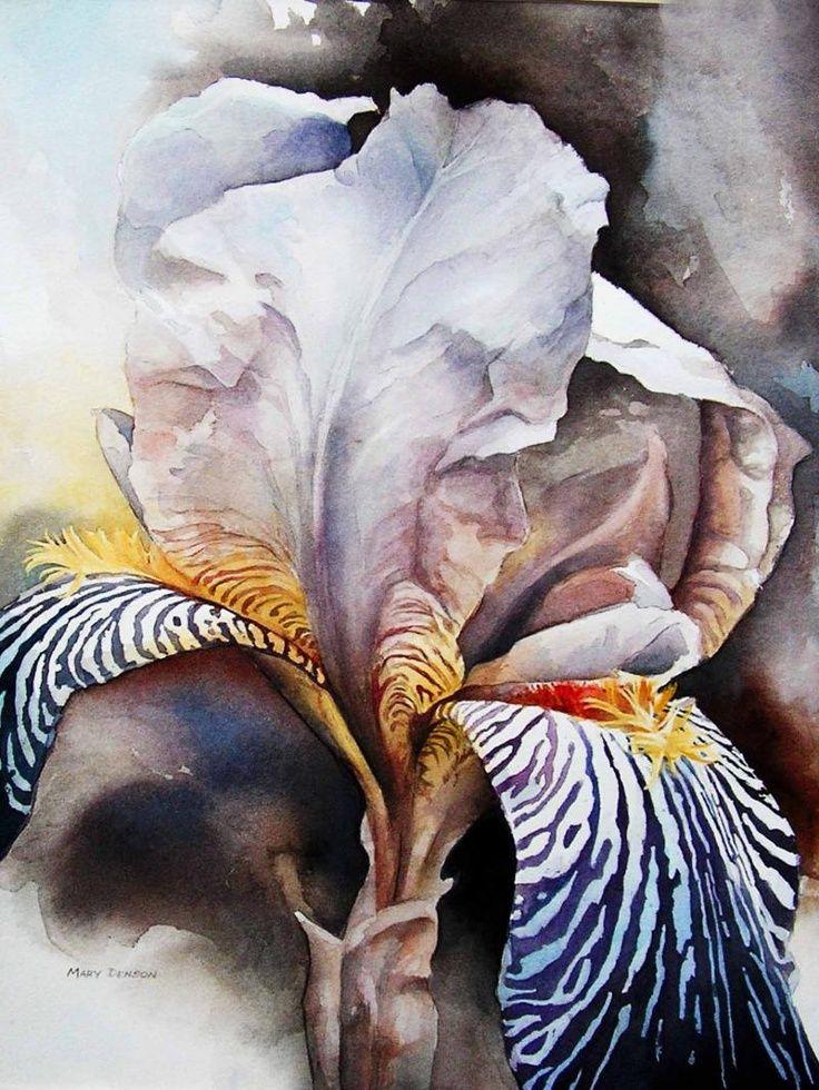 Ohdarlingdankeschoen Pinterest Com By Mary Denson Purple Iris