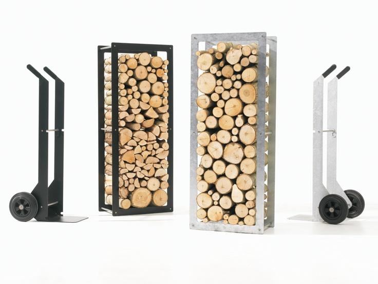 Extremis woodstock - houtstapelaar leuk karretje om hout in te stockeren