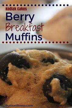 Kodiak Power Cakes Muffin Recipe