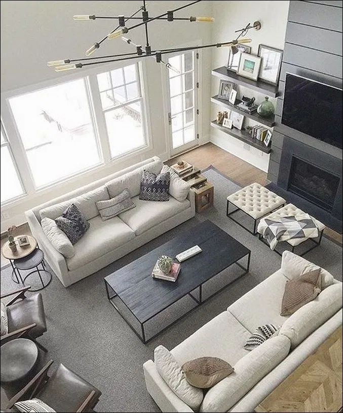 77 Stylish Living Room Seating Arrangement Design To Maximize Space 42 New Livingroom Layout Living Room Seating Cozy Living Room Design