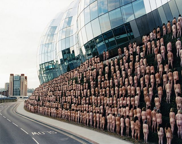 Spencer Tunick Photography