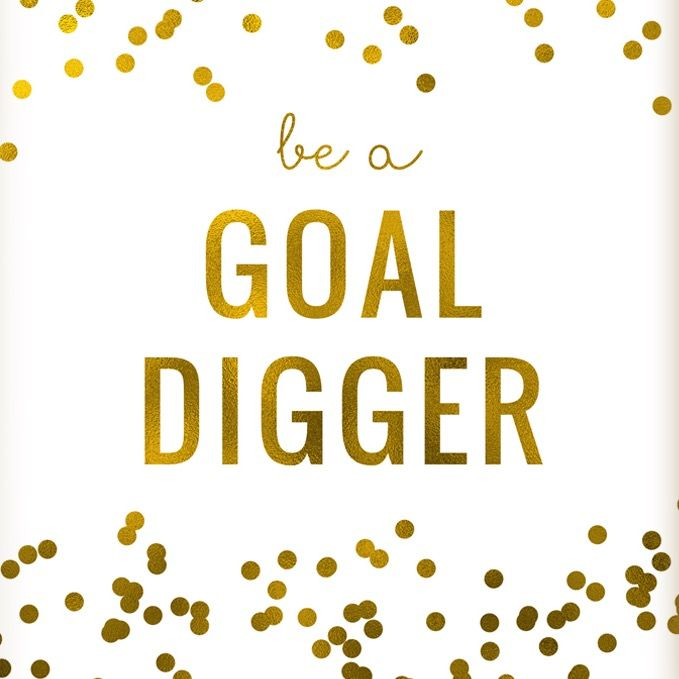 Be a goal digger www.AloeLiving.net