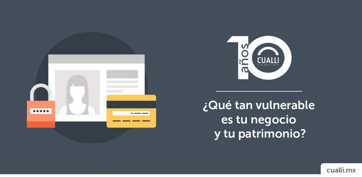 Comparto mi post en el blog Financiera Cualli - ¿Qué tan vulnerable es tu negocio y tu patrimonio? -