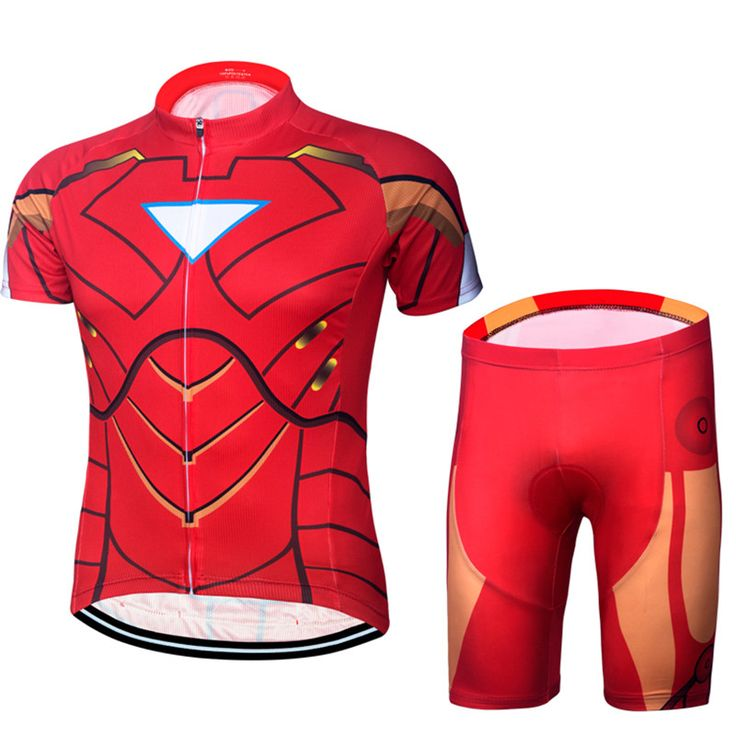 ==> [Free Shipping] Buy Best Ironman Triathlon Men Cycling Clothing Ropa Ciclismo Maillot Cycling Sets Jersey And Bib Shorts 2017 Bike Spiderman Sports suit Online with LOWEST Price | 32798473366