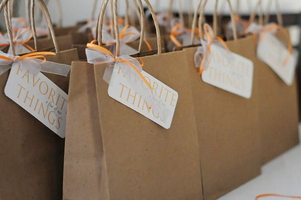 "I MUST do this with my girlfriends - so much fun!  A ""Favorite Things"" Party -- Love this idea!  ""Each guest brings their favorite item (5 of the same thing) costing around $6 and a favorite treat or dish to share with everyone!"""