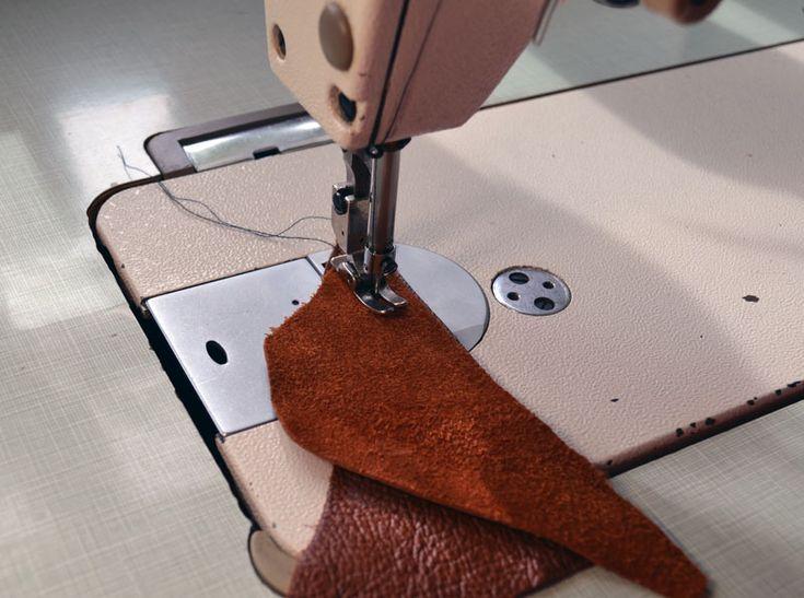 Технология пошива натуральной кожи
