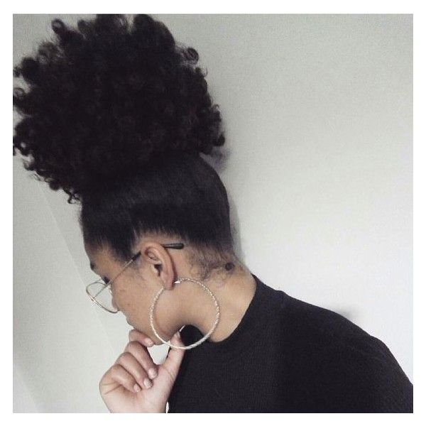 Pinterest Natural Hair ❤ liked on Polyvore featuring beauty products and haircare