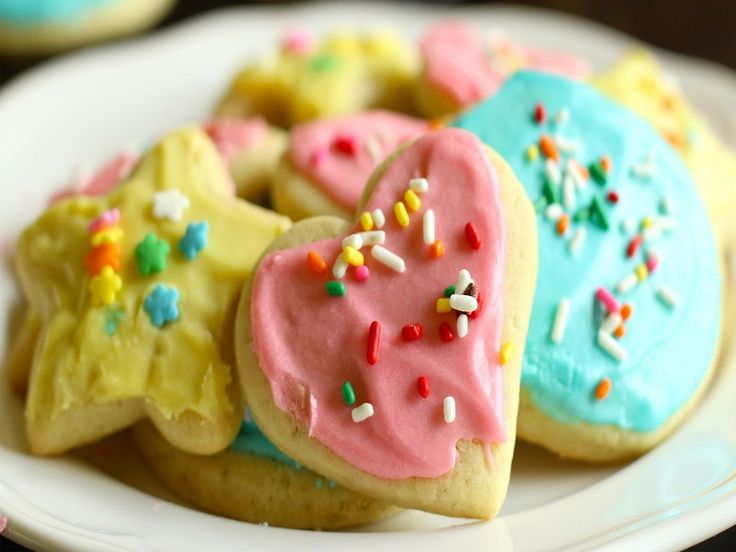 Soft vanilla flavored sugar cookies paired with a creamy frosting and topped with your favorite variety of sprinkles. These are super easy to make and...