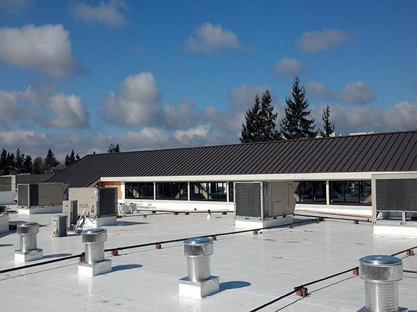 Winter may be over, but this warmer season can still affect your membrane roof. Learn how hotter days can impact the roof on your business, and what you can do to practice prevention. #MembraneRoof