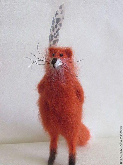 Жизнь удалась!!! - рыжий,оранжевый,лиса,лиса игрушка,мешок,подарок,оригинальный подарок