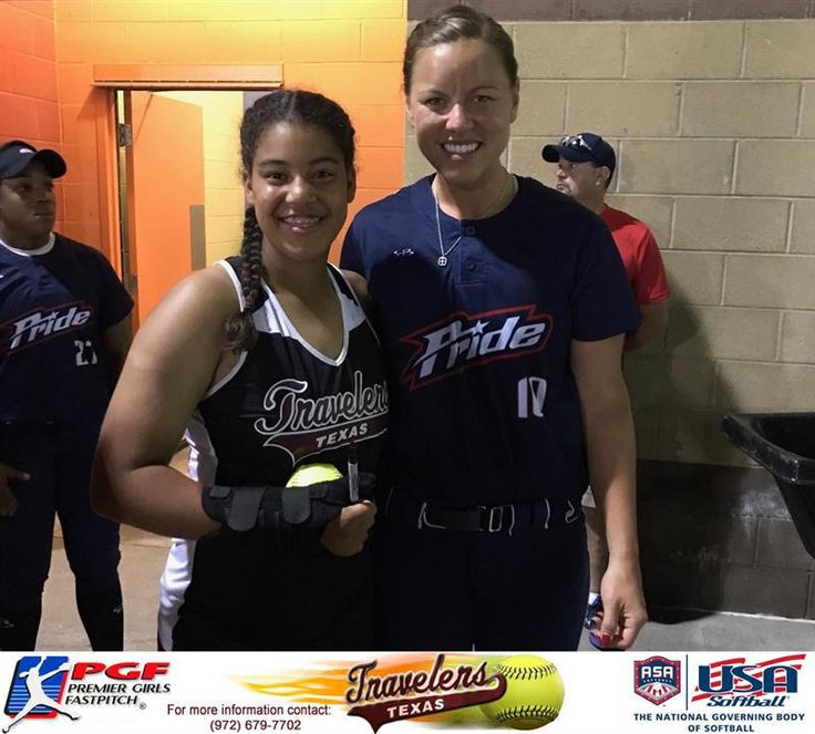 https://flic.kr/p/XpZ9B2 | Madison McClarity 1B/3B for the TX Travelers Gold got to meet her favorite softball player @laniricketts10 in Kansas City at the @USSSAPride NPF game during Nationals. @DeeMcClarity04