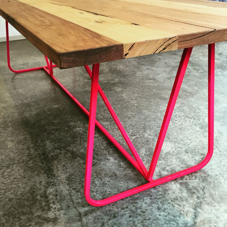 Deco Industrialist dining table.