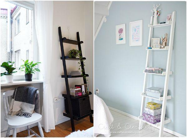 Estantería escalera   selección de compras | Decorar tu casa es facilisimo.com