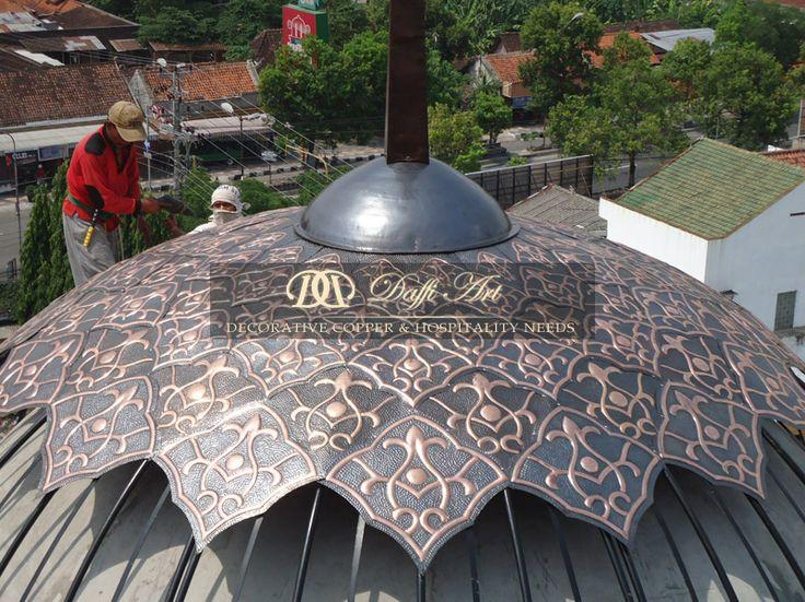 Kerajinan Tembaga Kuningan DAFFI ART - Pusatnya kerajinan tembaga dan kuningan di Boyolali Indonesia dengan produk-produk unggulan berkualitas internasional
