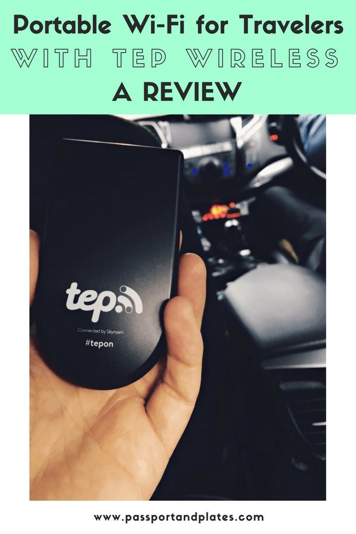 Want to travel abroad without expensive data roaming charges? Click to read my TEP Wireless review and learn how you can get internet coverage worldwide with just one device. | http://passportandplates.com