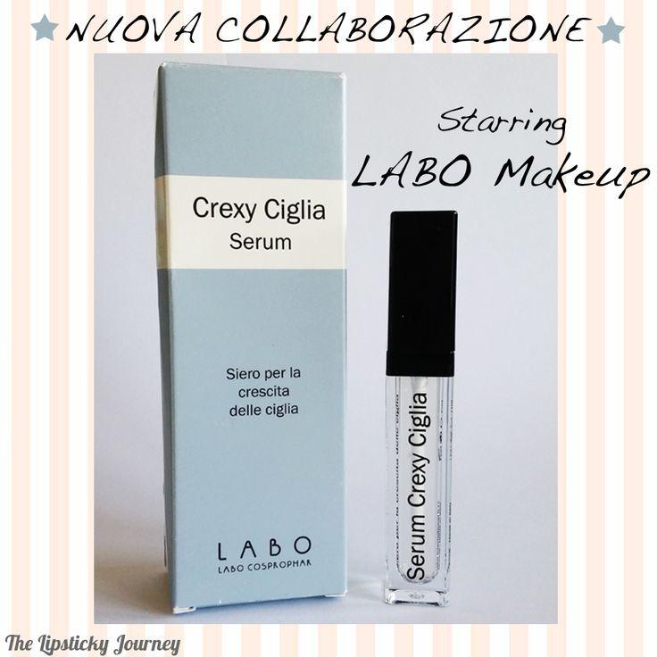 È con piacere che annuncio una nuova importante partnership per il mio blog! La prestigiosa Labo Make-up! Da oggi ho iniziato a testare il loro CREXY CIGLIA SERUM, trattamento professionale che aiuta ad aumentare la crescita delle ciglia!  Presto tutti i dettagli su www.thelipstickyjourney.com  #crexyserum #labo #beautyblog #thelipstickyjourney #labomakeup #collaboration #partnership #lashes