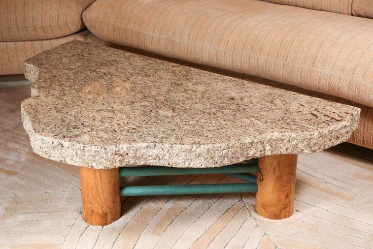Furniture: Elegant Granite Coffee Table On Table Aluminium Bowl Under Table Luxury Rugs As Pedestal Flooring Beside Looking Cream Sofa At Red Arm Chair The Legs Of Table Have Drawer As Storage from Desired Granite Coffee Table