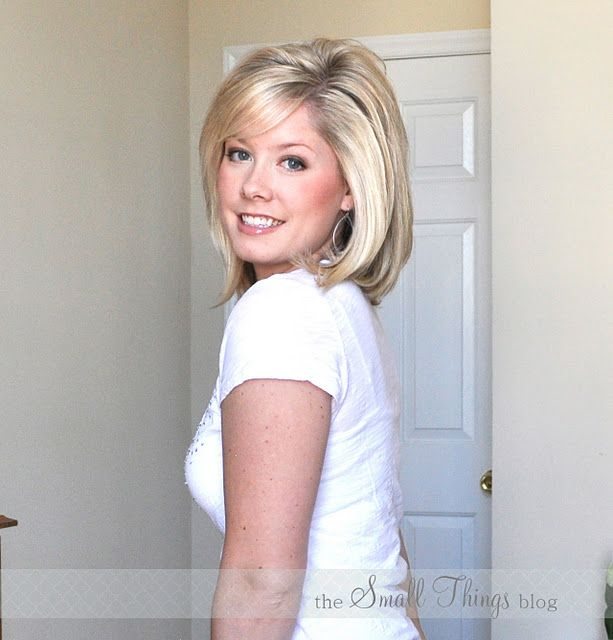 How to flat iron and get volume.   So many great ideas on this blog!