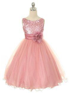 Resultado de imagen para vestidos de princesa de color rosado pra niña