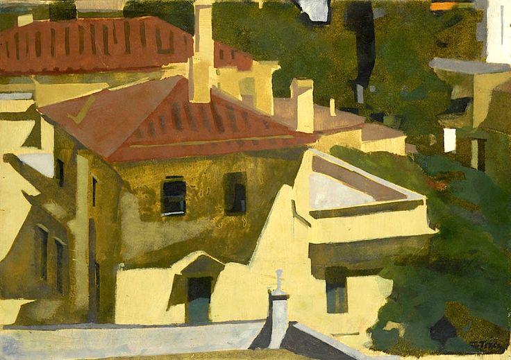 Red roofs - Panayiotis Tetsis