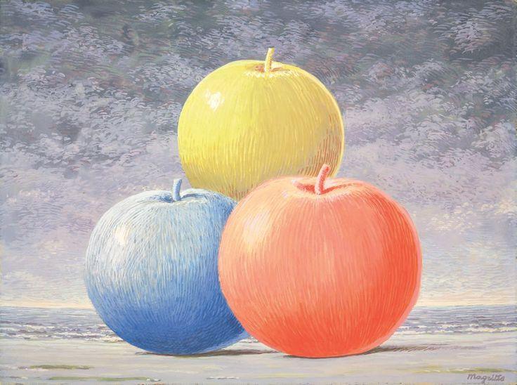 René Magritte - Le Chant d'Amour, c.1962 René Magritte 1898 - 1967  More @ FOSTERGINGER At Pinterest