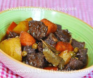 Beef Estofado | Filipino Style Recipe