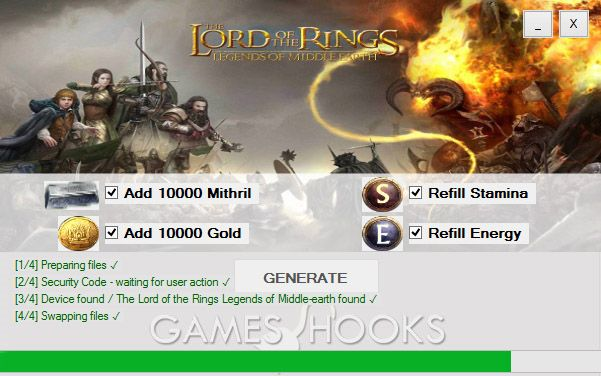 Lord of the Rings Legends of Middle-Earth Hack | Games Hooks