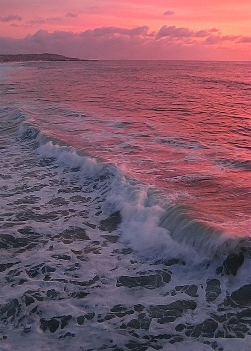 Pink...sunrise, sunset - a tender and peaceful color