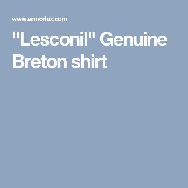 """Lesconil"" Genuine Breton shirt"