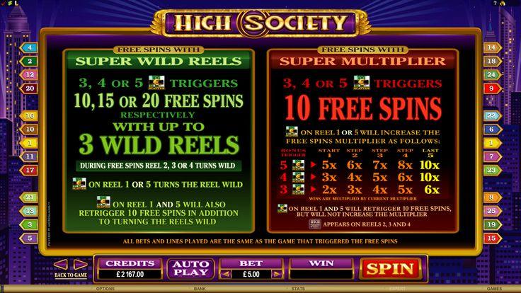 High Society Online Slot Game