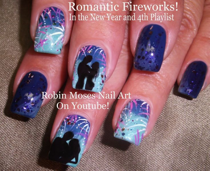 Best 25+ Firework nails ideas on Pinterest | New years ...