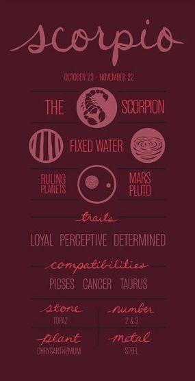 Scorpio ~ ...no wonder we click...we're compatible lol
