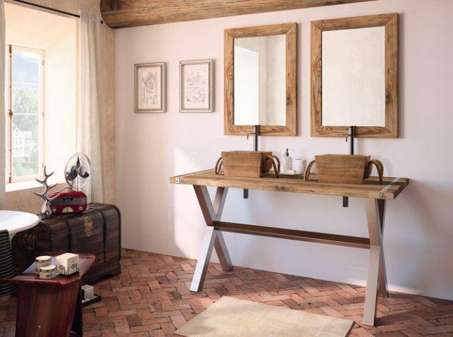 pratiques et dco les doubles vasques salledebain bathroom vasque doublevasque - Doubles Vasques Design