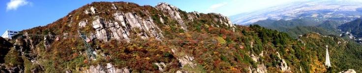 Mt.Gozaisyo (Mie-Pref)  御在所岳・大黒岩からの絶景  http://teru172.com/B1/gozaisyodake/zekkei.html