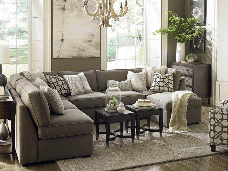 U-Shaped Sectional by Bassett Furniture