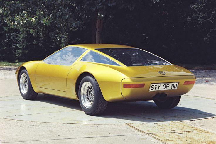 Opel GT-W Geneve, 1975
